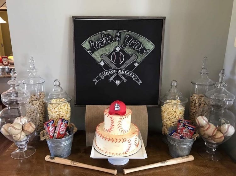 Baseball Cake by WTTC Winner HallieCakes