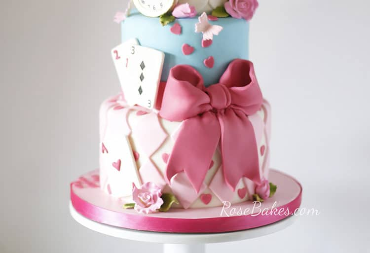 Alice in wonderland movie cake-3459