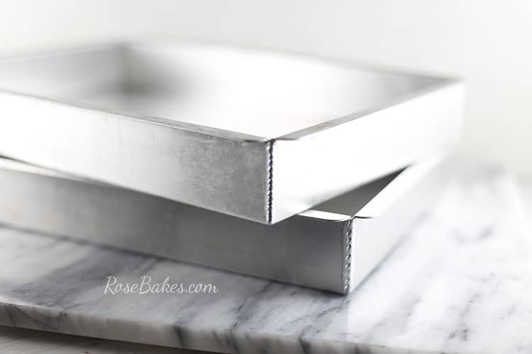 The Best Sheet Cake Pans Rose Bakes