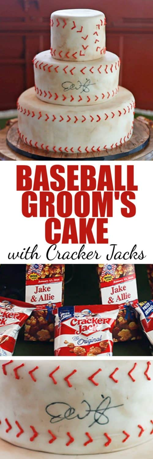 Baseball Groom's Cake