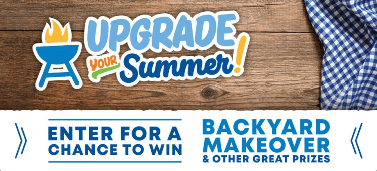 Upgrade your summer logo to enter to win giveaway