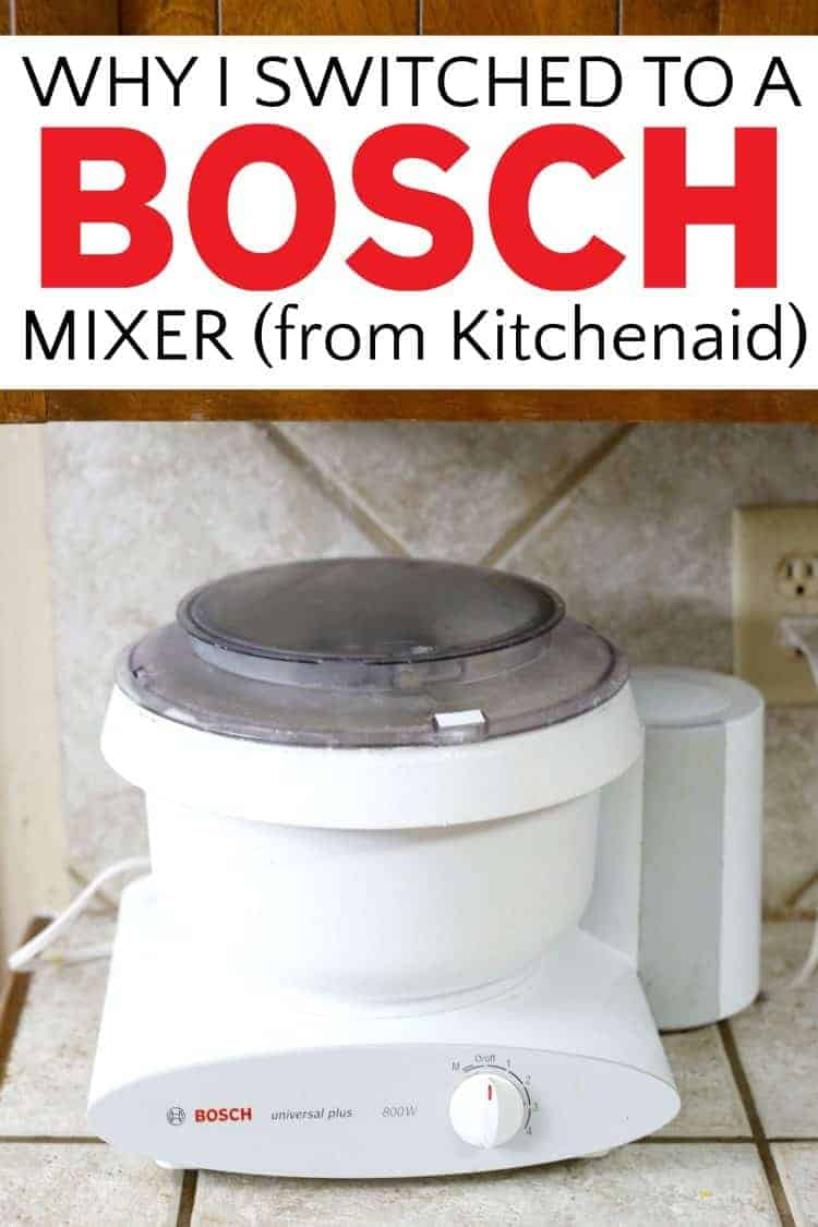 Why I switched to a Bosch Mixer (from Kitchenaid) | Rose Bakes