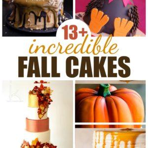 13+ Incredible Fall Cakes