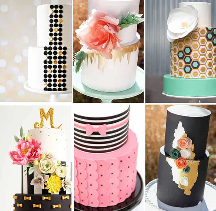 Watch All Cake Classes for Free this week! Cake Collage