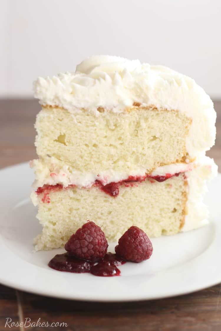 Stupendous Raspberry Filling For Cakes Perfect Recipe For White Or Funny Birthday Cards Online Amentibdeldamsfinfo