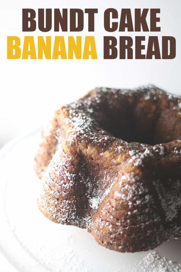 bundt cake banana bread