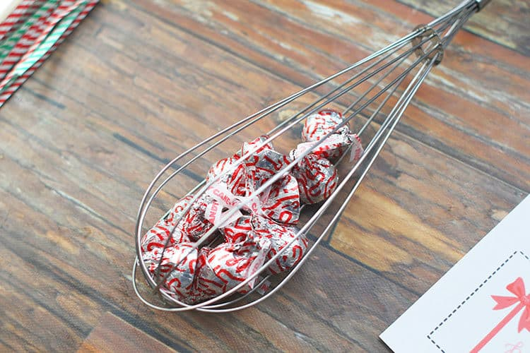Kisses in Whisk for We Whisk You a Merrry Christmas Gift Idea