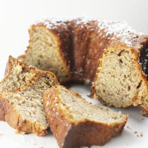 Bundt Cake Banana Bread