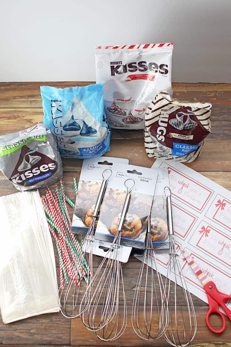Supplies needed for We Whisk You a Merry Christmas Gift Idea