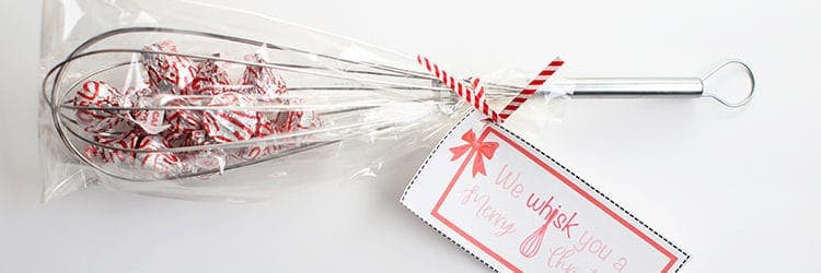 picture about We Whisk You a Merry Kissmas Printable Tag identify We Whisk Yourself a Merry Xmas (Absolutely free Present Tags) - Rose Bakes