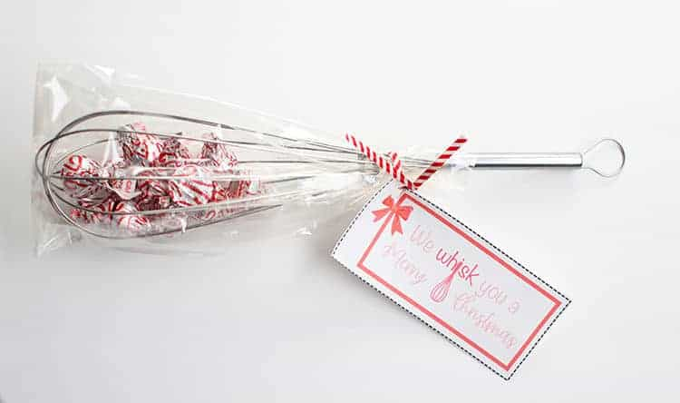 We Whisk You a Merry Christmas Gift Idea - Whisk with Kisses Inside