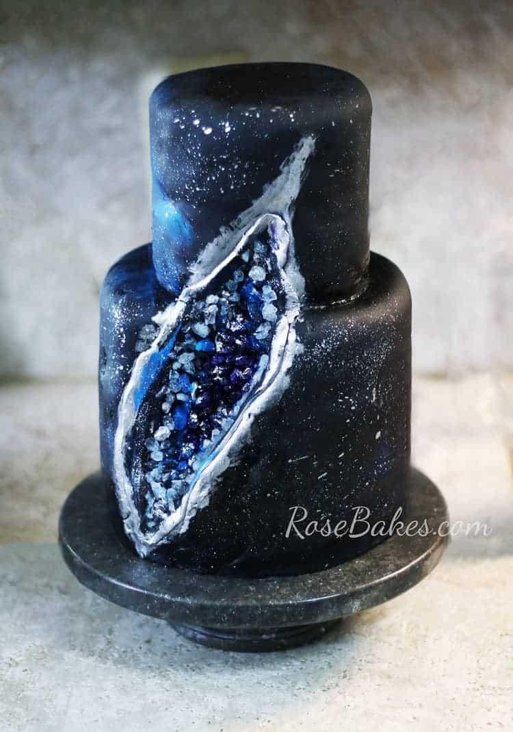 Purple Black Cake