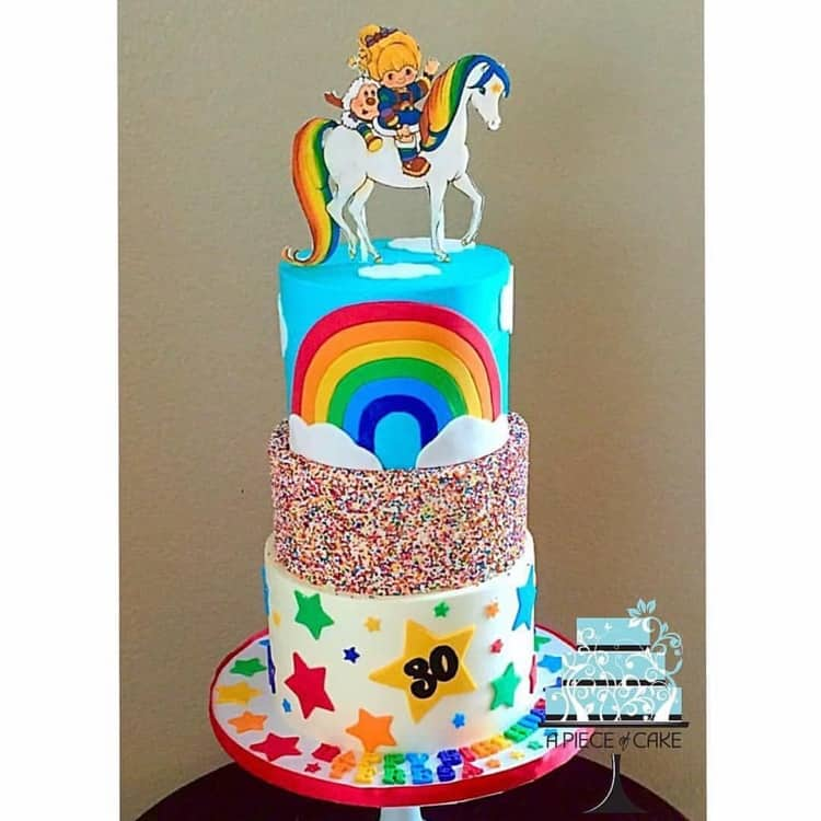 20 Rainbow Cakes Amp Party Ideas Rose Bakes