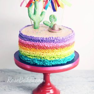 20+ Rainbow Cakes & Party Ideas