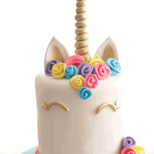How to Make a Unicorn Horn Cake Topper {Video Tutorial}