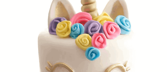 c6bbf91cfb97d How to Make a Unicorn Horn Cake Topper {Video Tutorial} - Rose Bakes