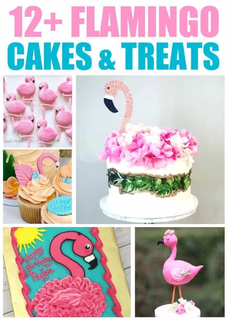 12+ Flamingo Cakes & Treat Ideas