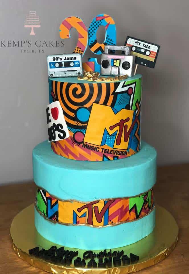 15+ Fault Line Cakes that WOW - MTV Fault Line 90's Cake