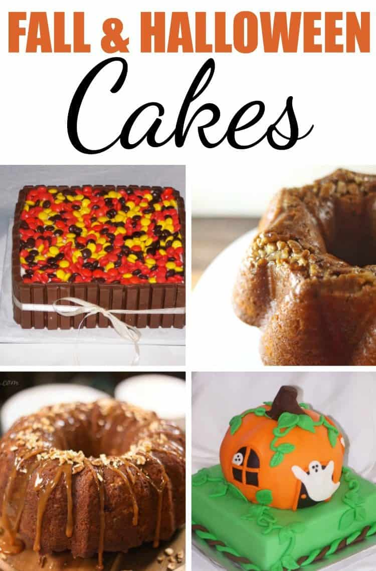 Fall and Halloween Cakes