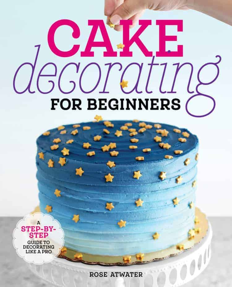 Cake Decorating for Beginners Book Cover