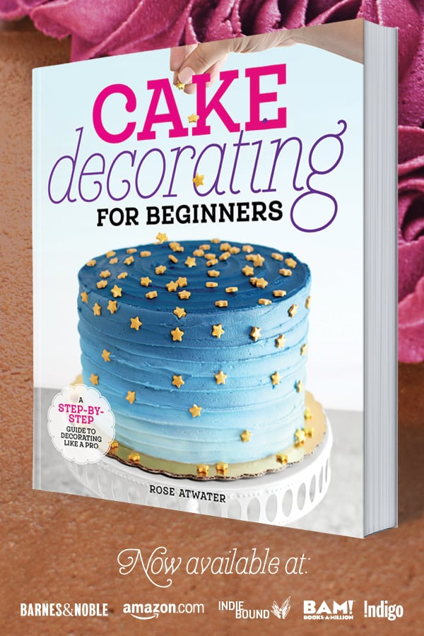 Cake Decorating for Beginners Book Promo