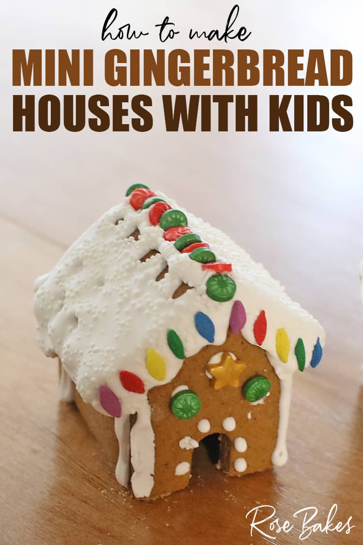 Decorated Mini Gingerbread House