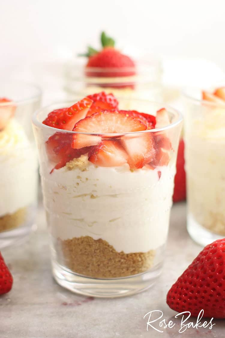 Individual Cheesecake Cups