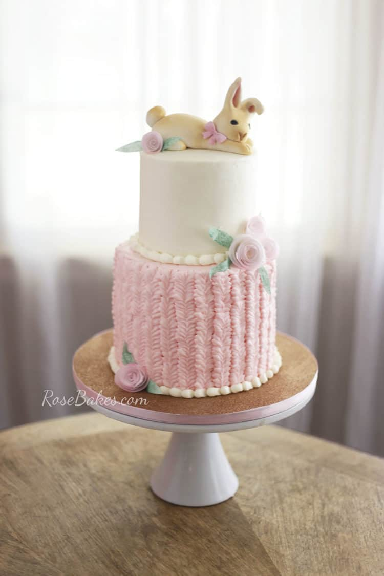 13 Easter Bunny Cakes Rose Bakes