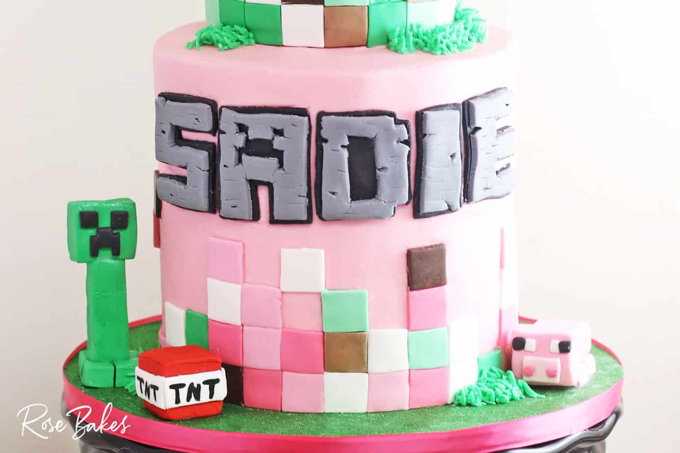 minecraft cake ideas for girls