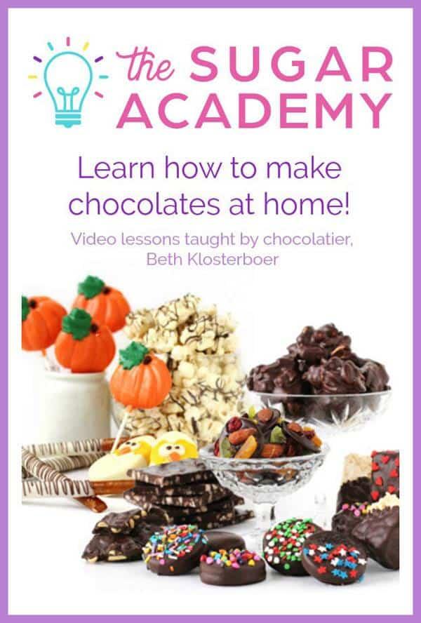 The Sugar Academy Chocolotes Courses ad