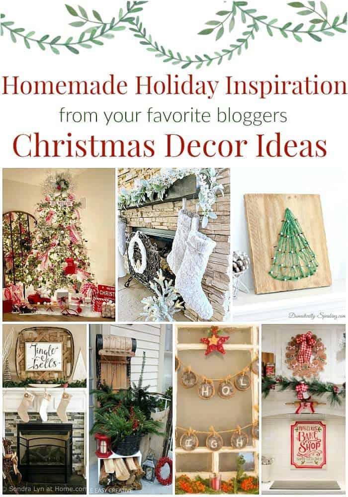 Homemade Holiday Inspiration - Christmas Decor Ideas