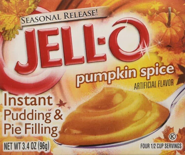 jello pumpkin spice instant pudding